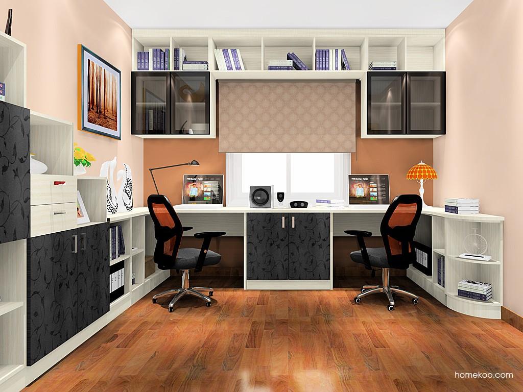 米兰剪影书房家具C18001