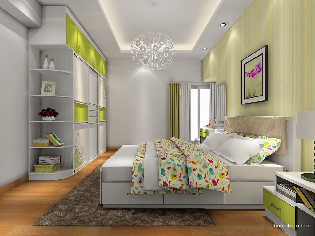 里昂春天卧房家具A17859