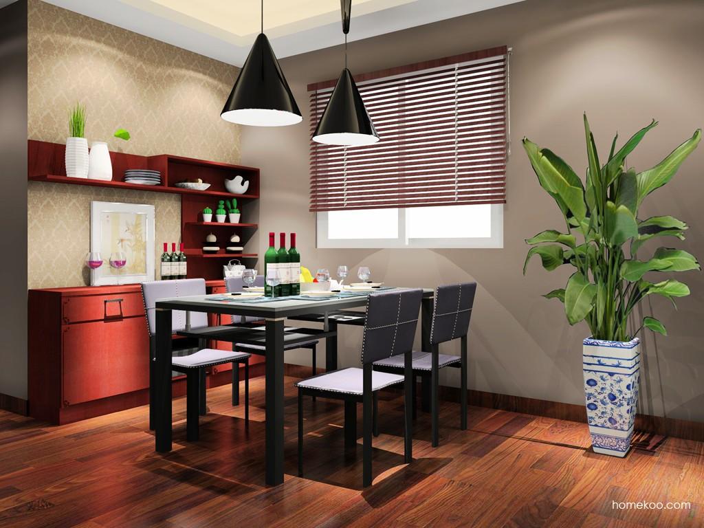 中国韵餐厅家具E16802