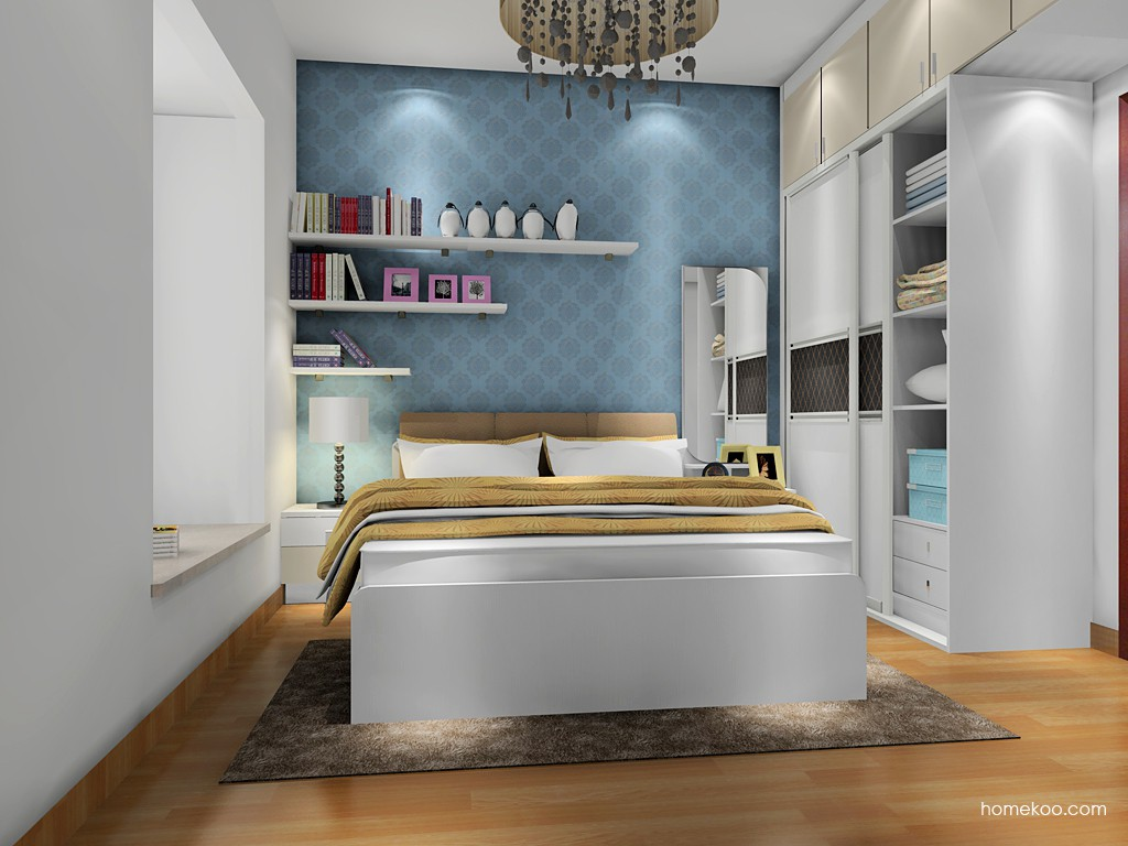 新实用主义卧房家具A17865