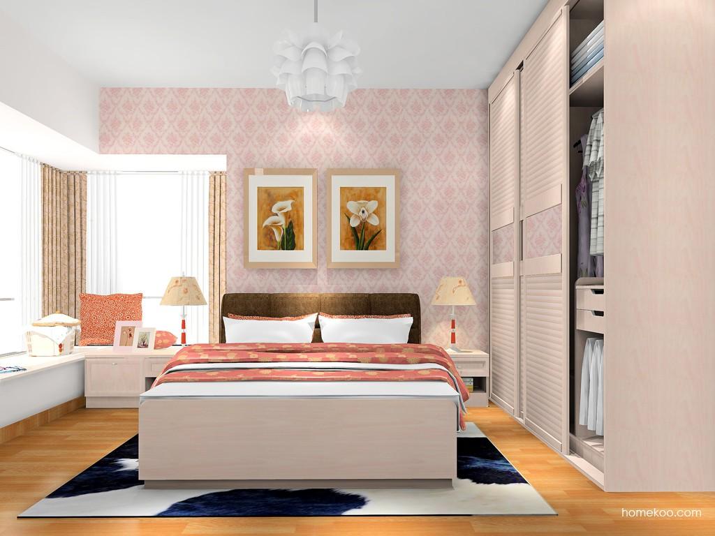 北欧阳光卧房家具A17867