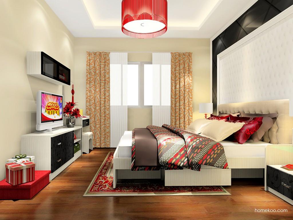 米兰剪影卧房家具A17858