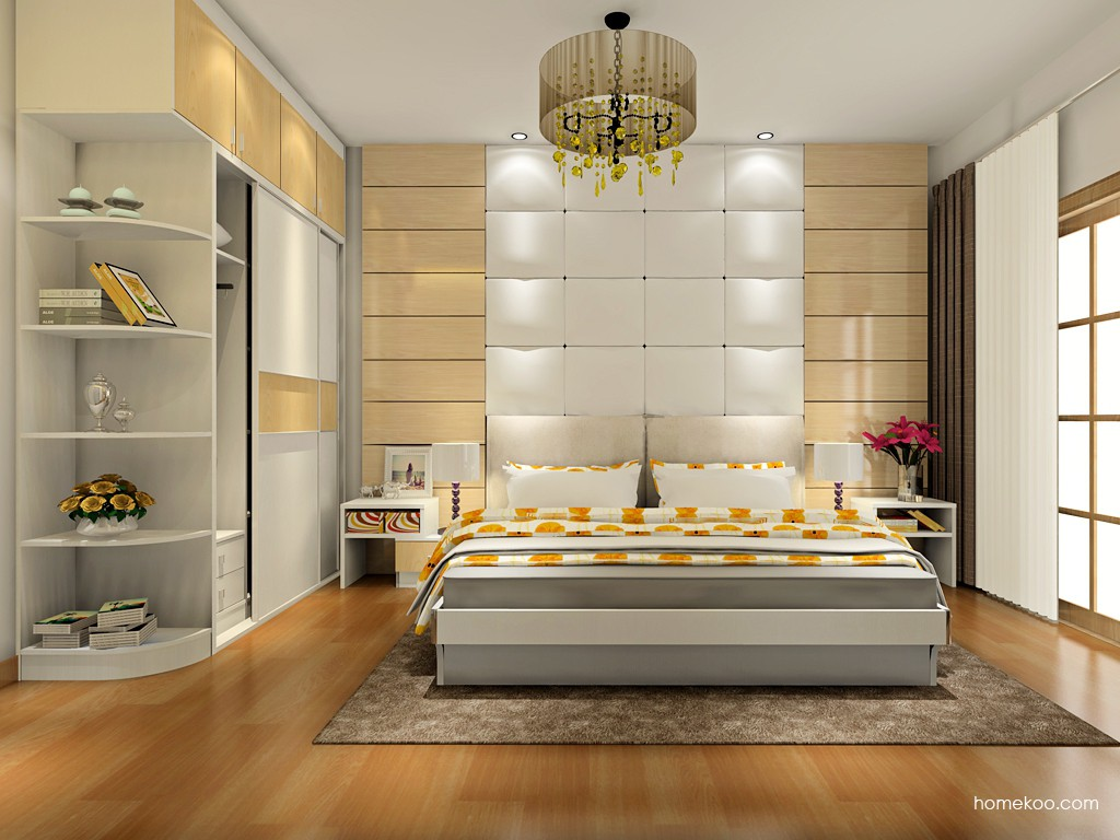 新实用主义卧房家具A17873