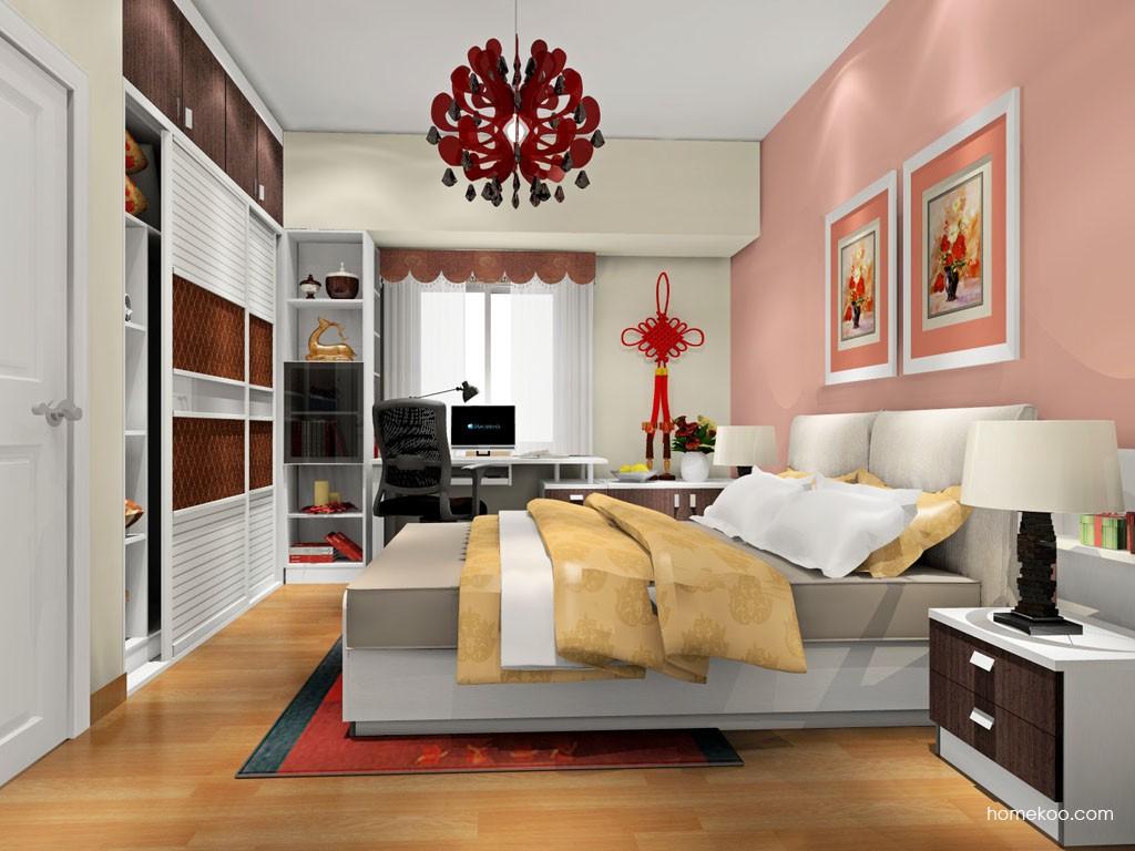 新实用主义卧房家具A17877