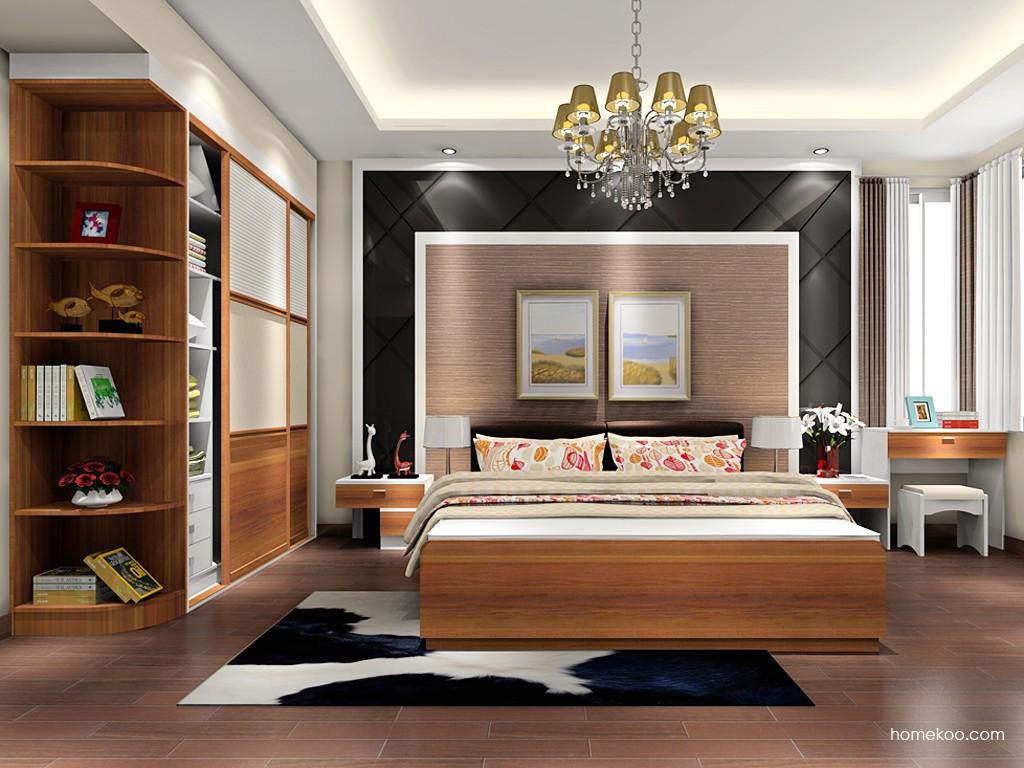 新实用主义卧房家具A17878