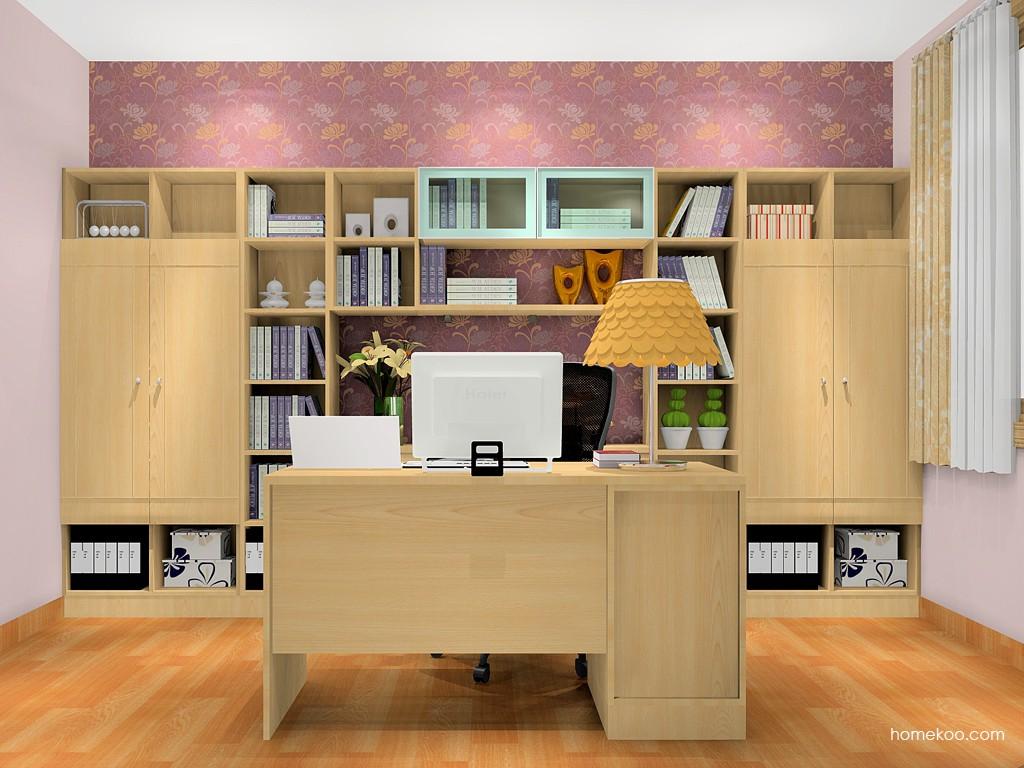 北美枫情书房家具C18061