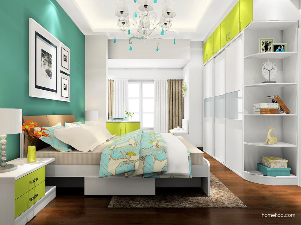 里昂春天卧房家具A17889