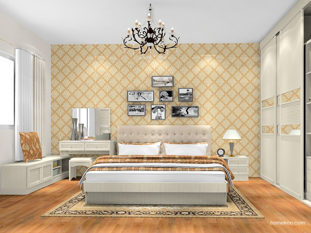 英伦印象卧房家具A17896