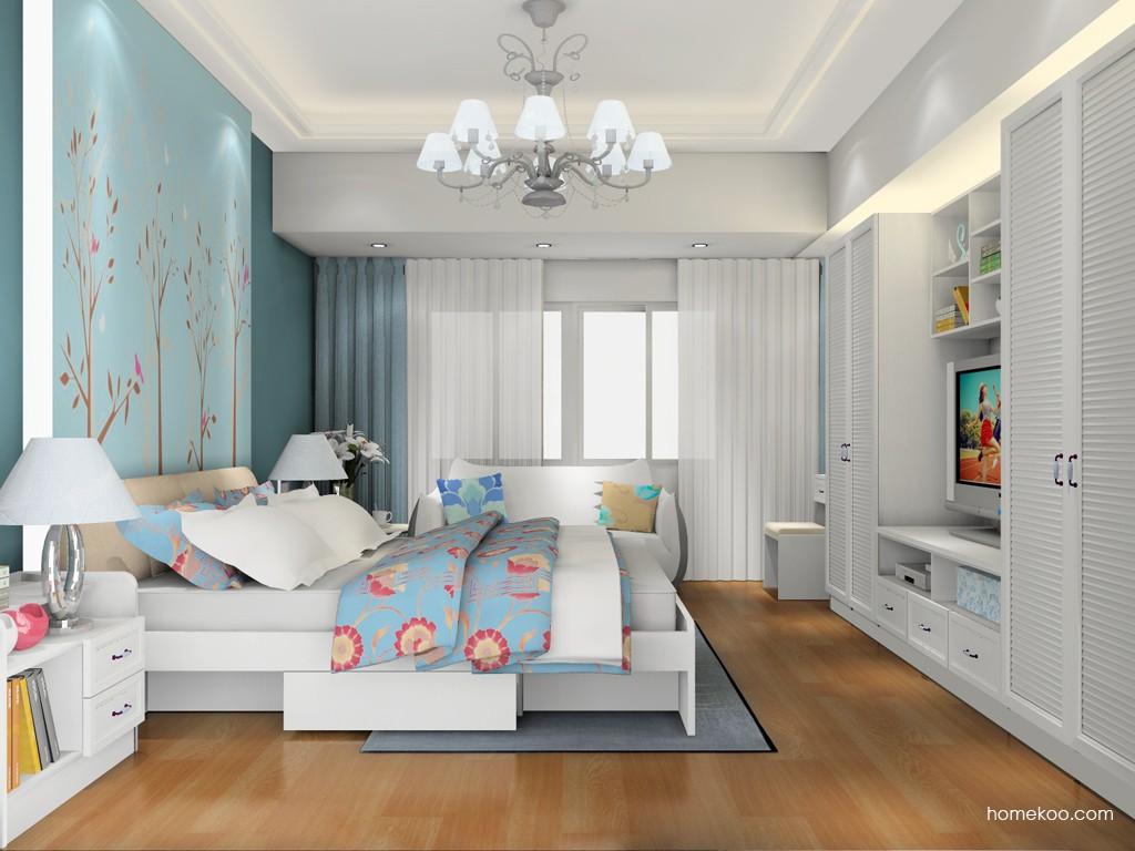 韩式田园卧房家具A17899