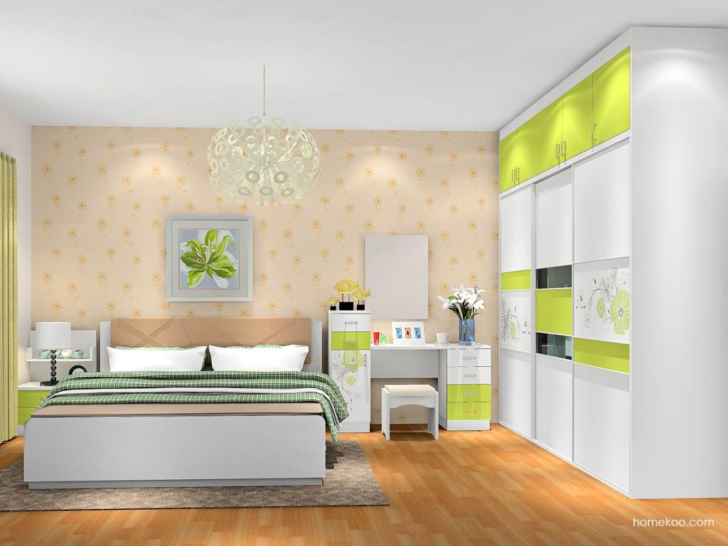里昂春天卧房家具A17900