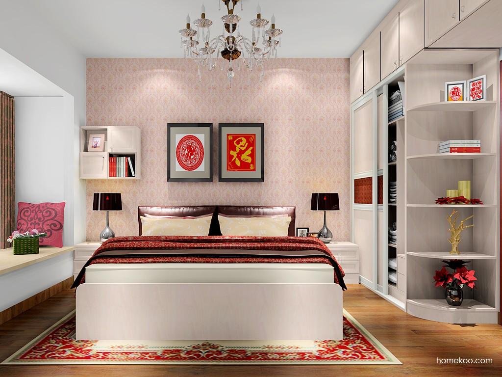 北欧阳光卧房家具A17903