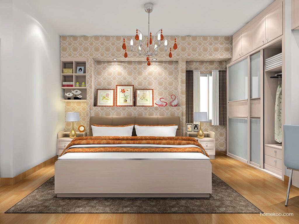 北欧阳光卧房家具A17905