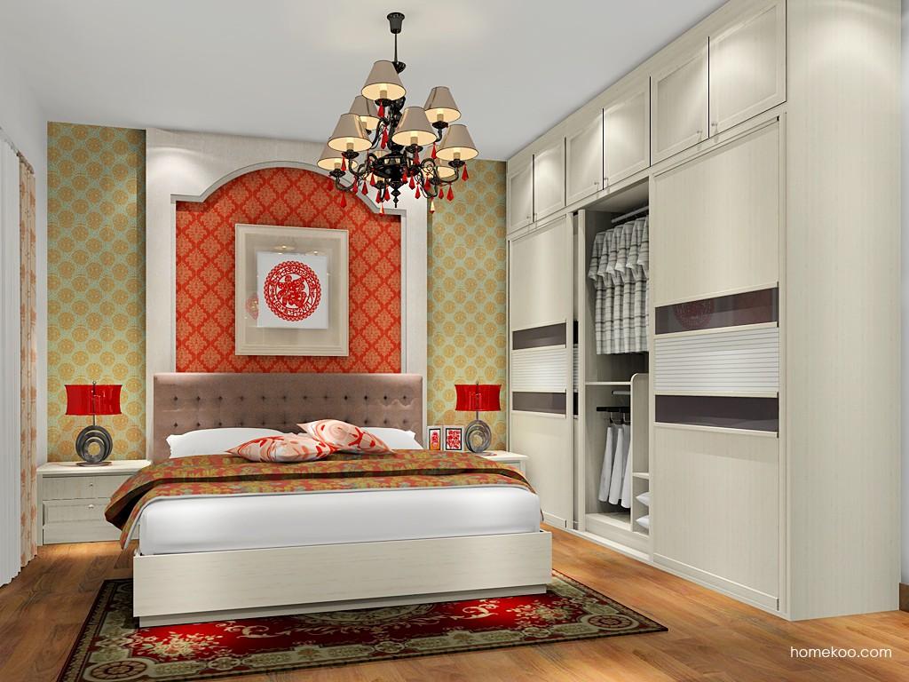 英伦印象卧房家具A17909