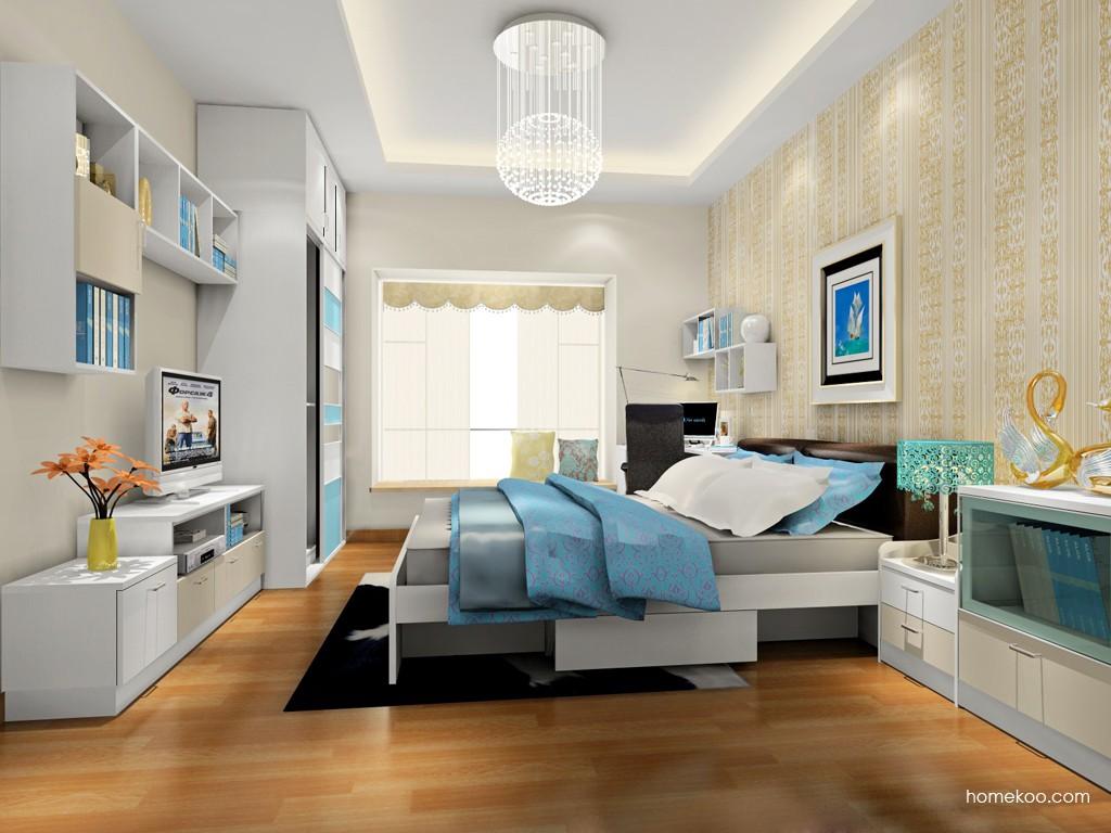 新实用主义卧房家具A17910