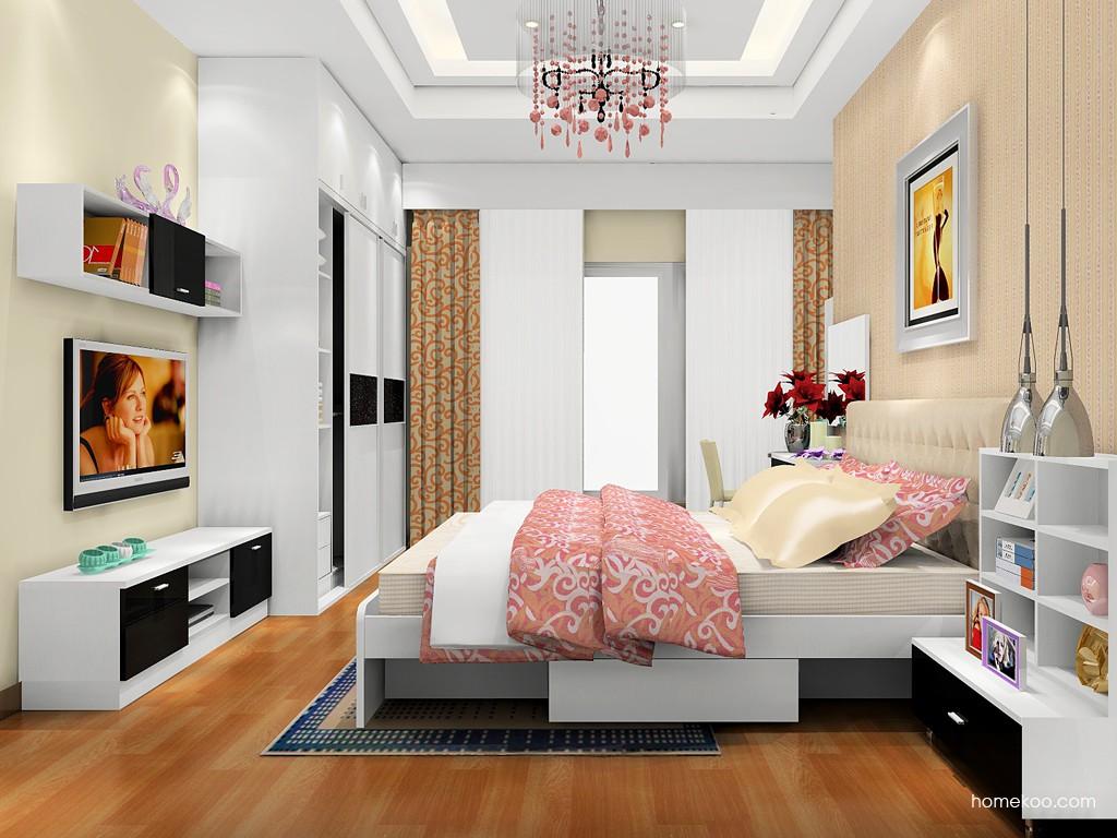 简约主义卧房家具A17911