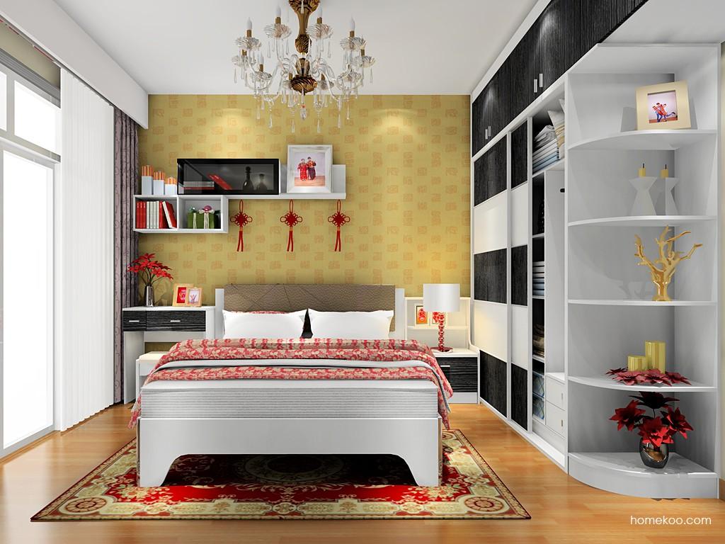 简约主义卧房家具A17915
