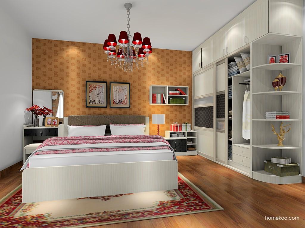 米兰剪影卧房家具A17930