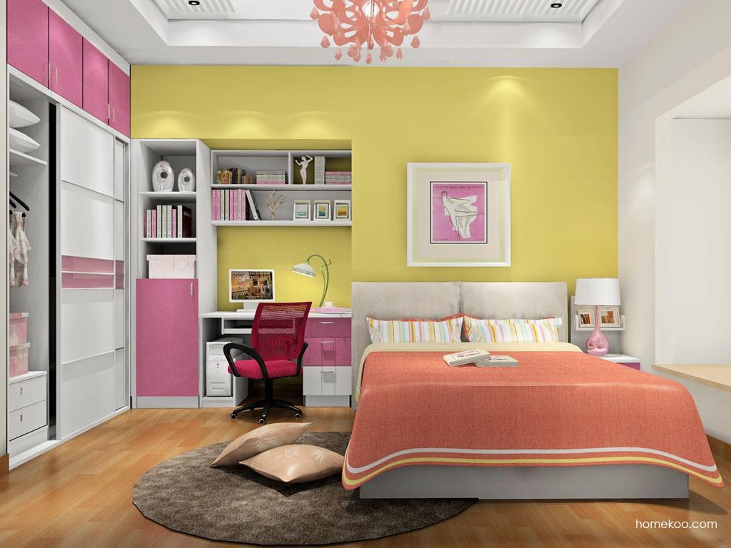浪漫主义卧房家具A17933