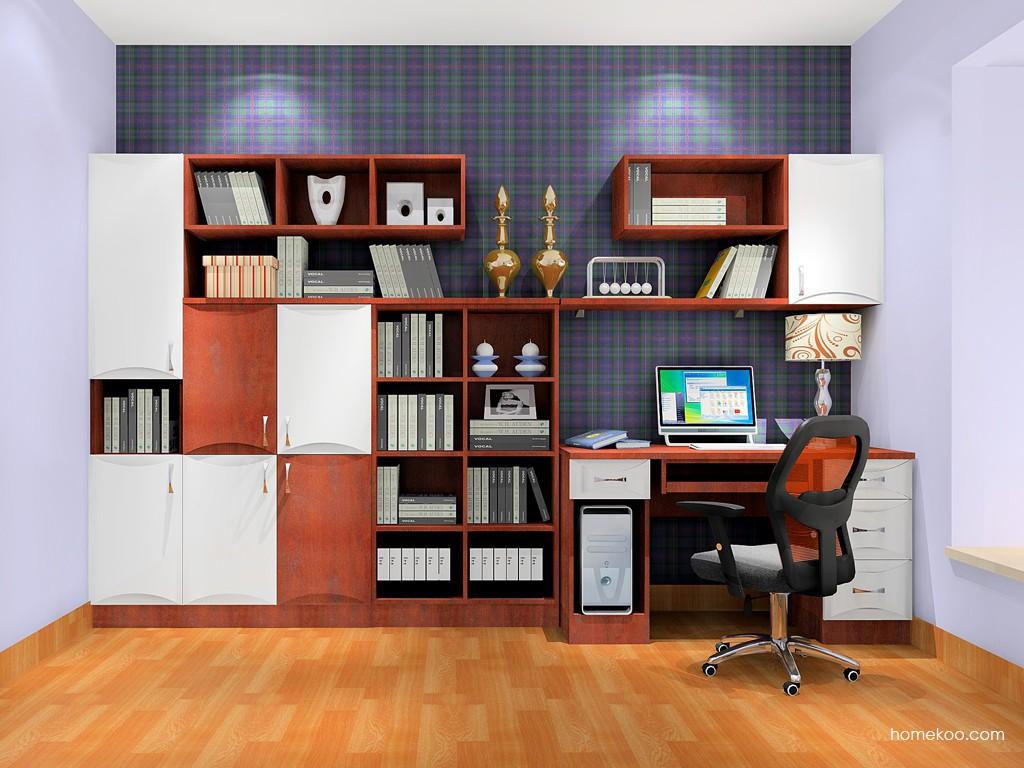 挪威月色书房家具C18120