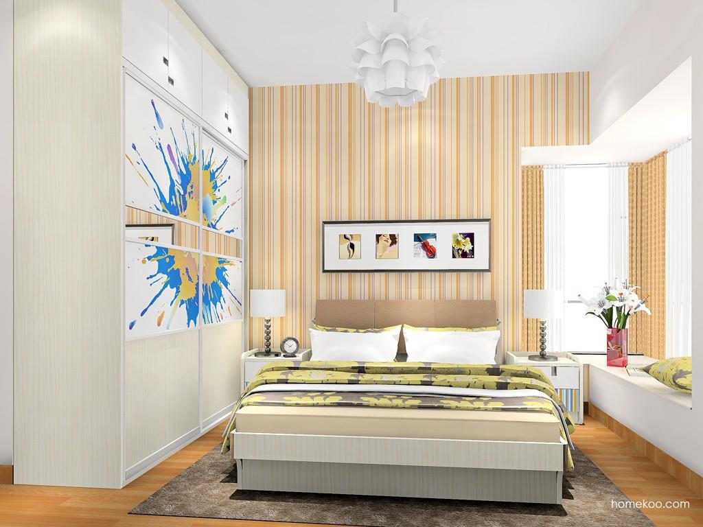 首尔之缤卧房家具A17934