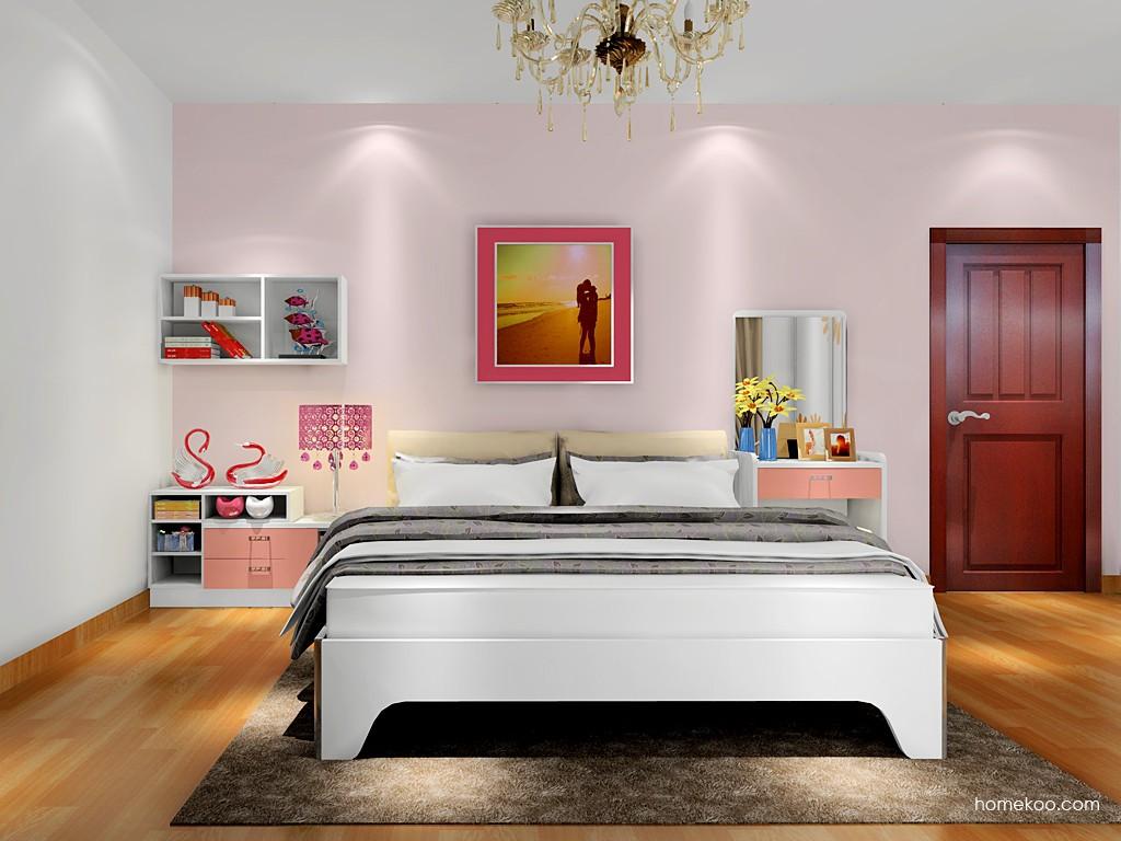 浪漫主义卧房家具A17939