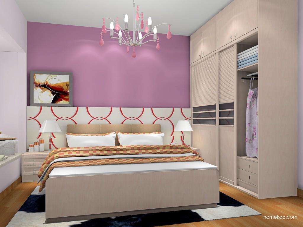 北欧阳光卧房家具A17946
