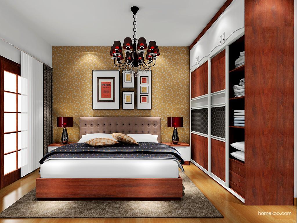挪威月色卧房家具A17947