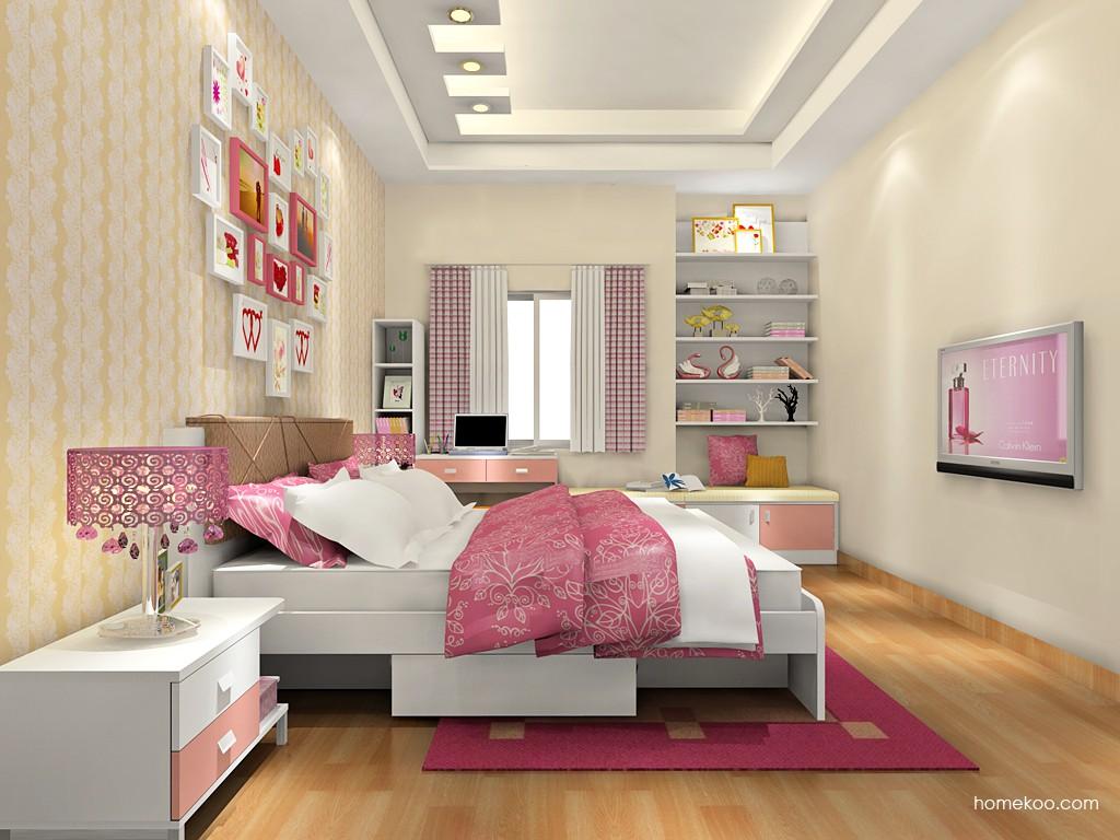 浪漫主义卧房家具A17948