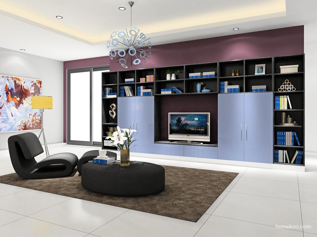 新实用主义客厅家具D16837