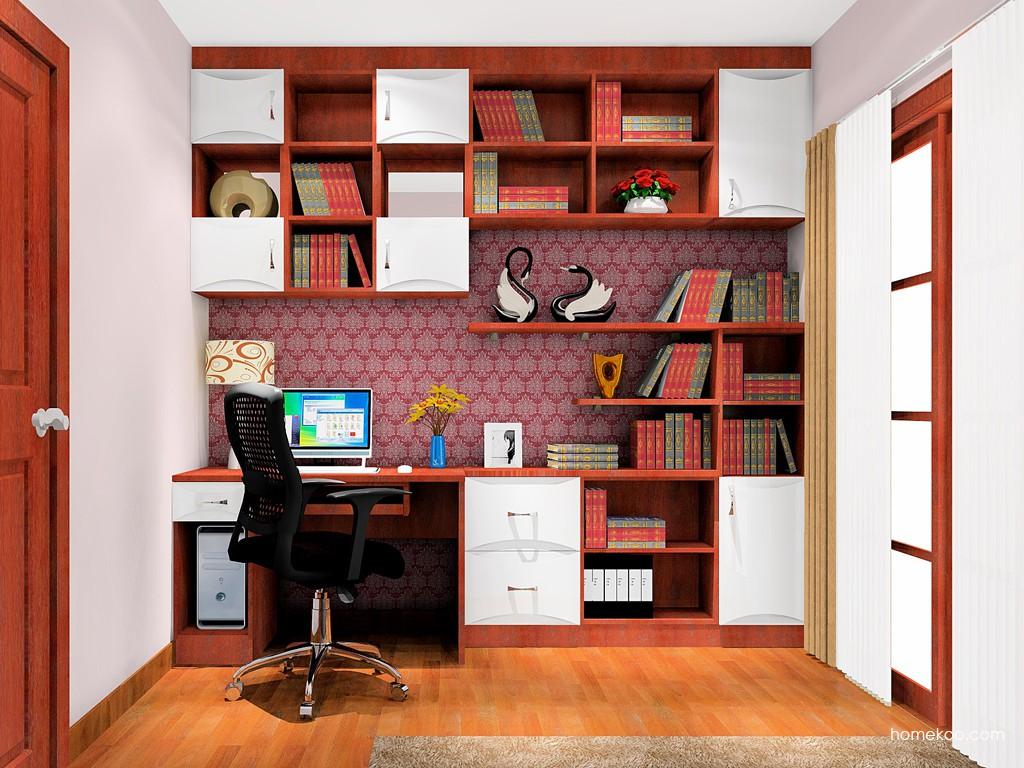 挪威月色书房家具C18150