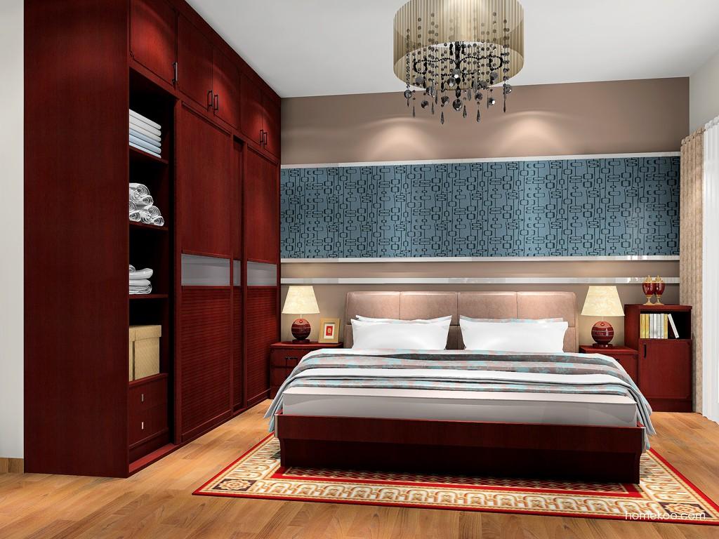 中国韵卧房家具A17962