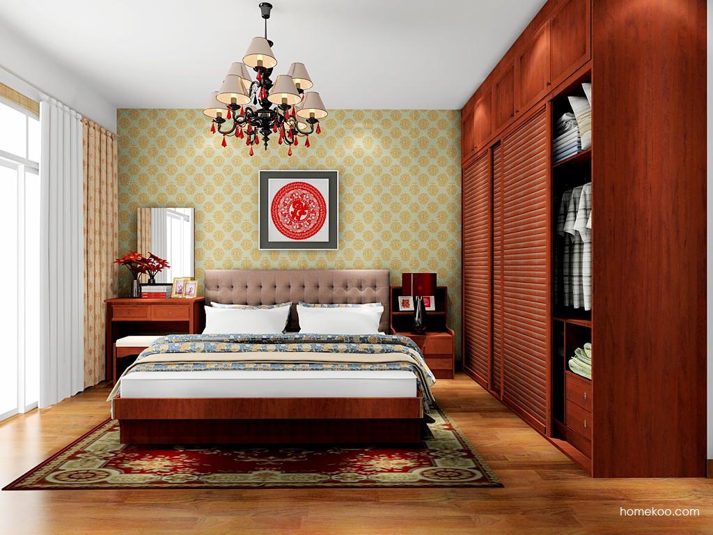 新中式主义卧房家具A17964