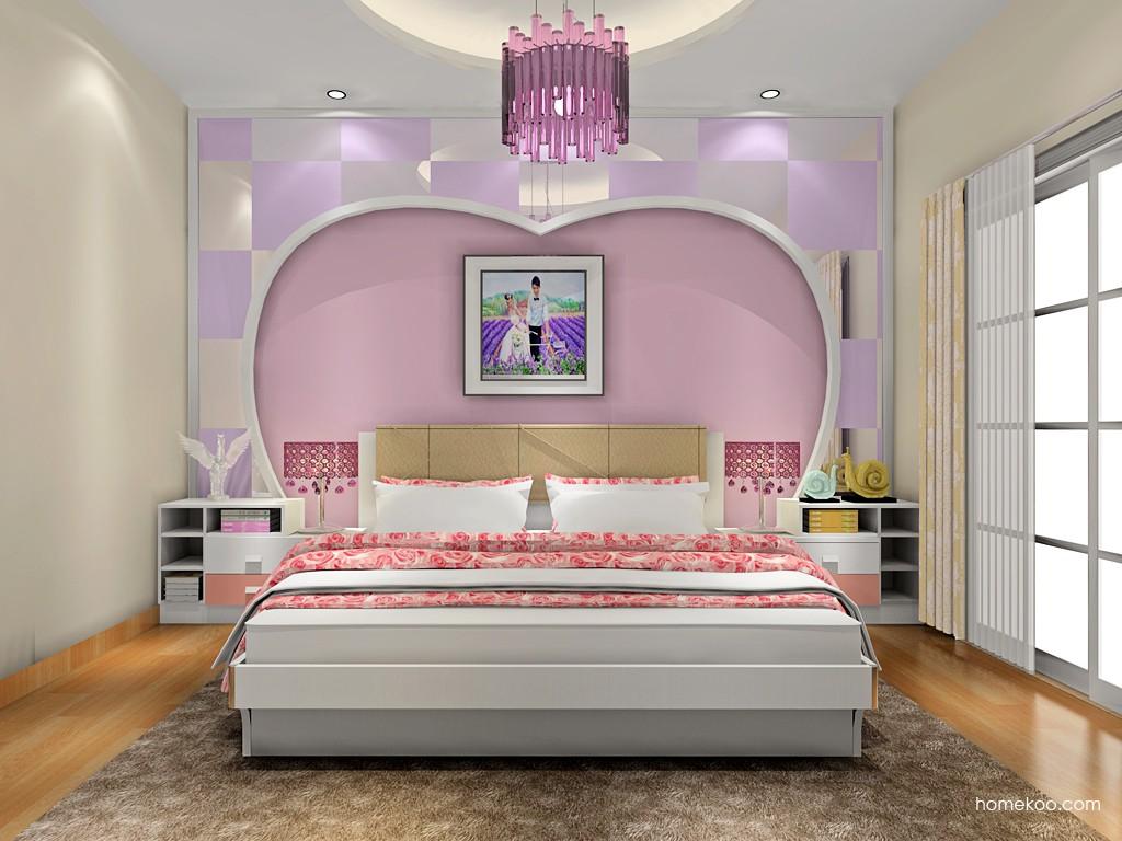 浪漫主义卧房家具A17966