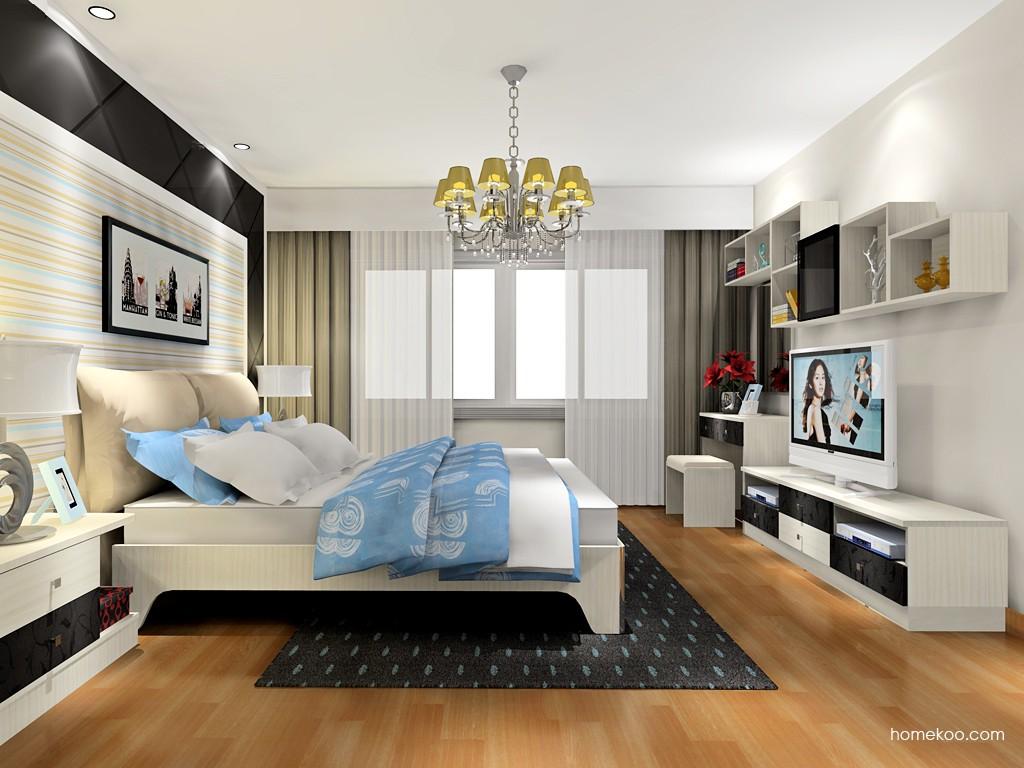 米兰剪影卧房家具A17971