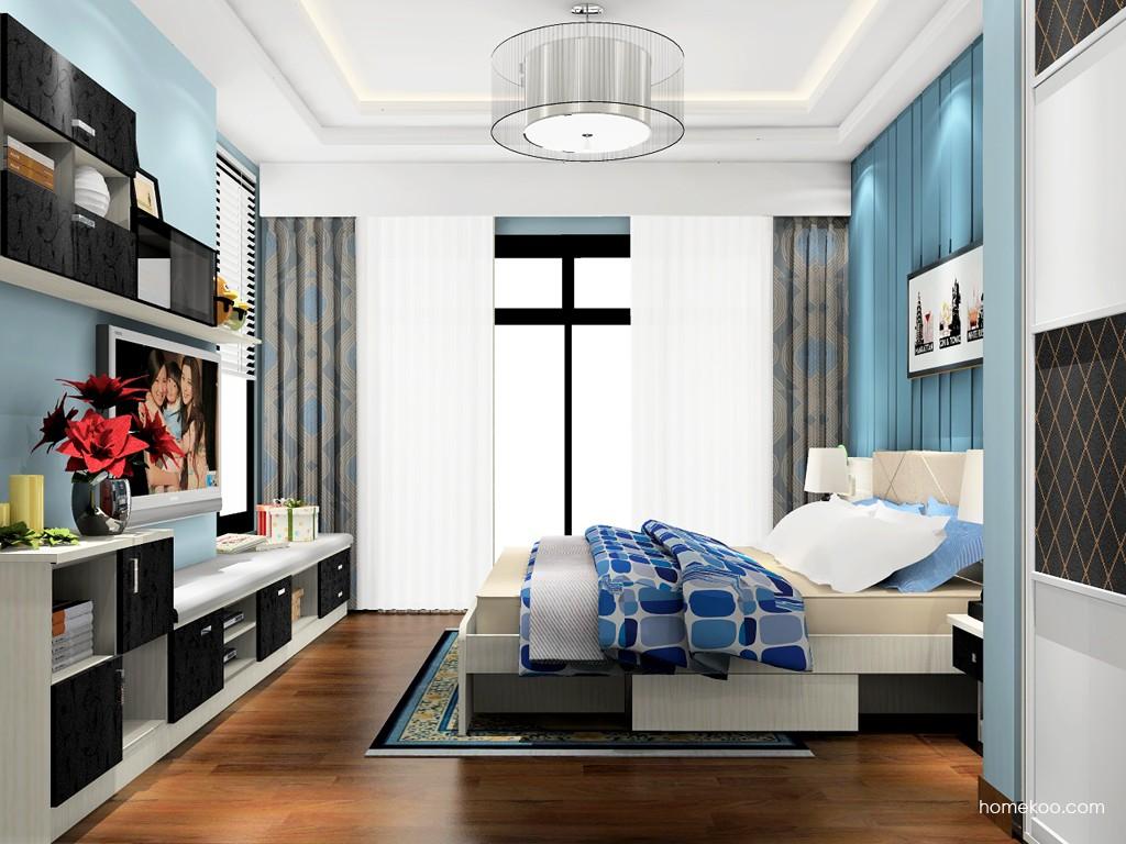 米兰剪影卧房家具A17972