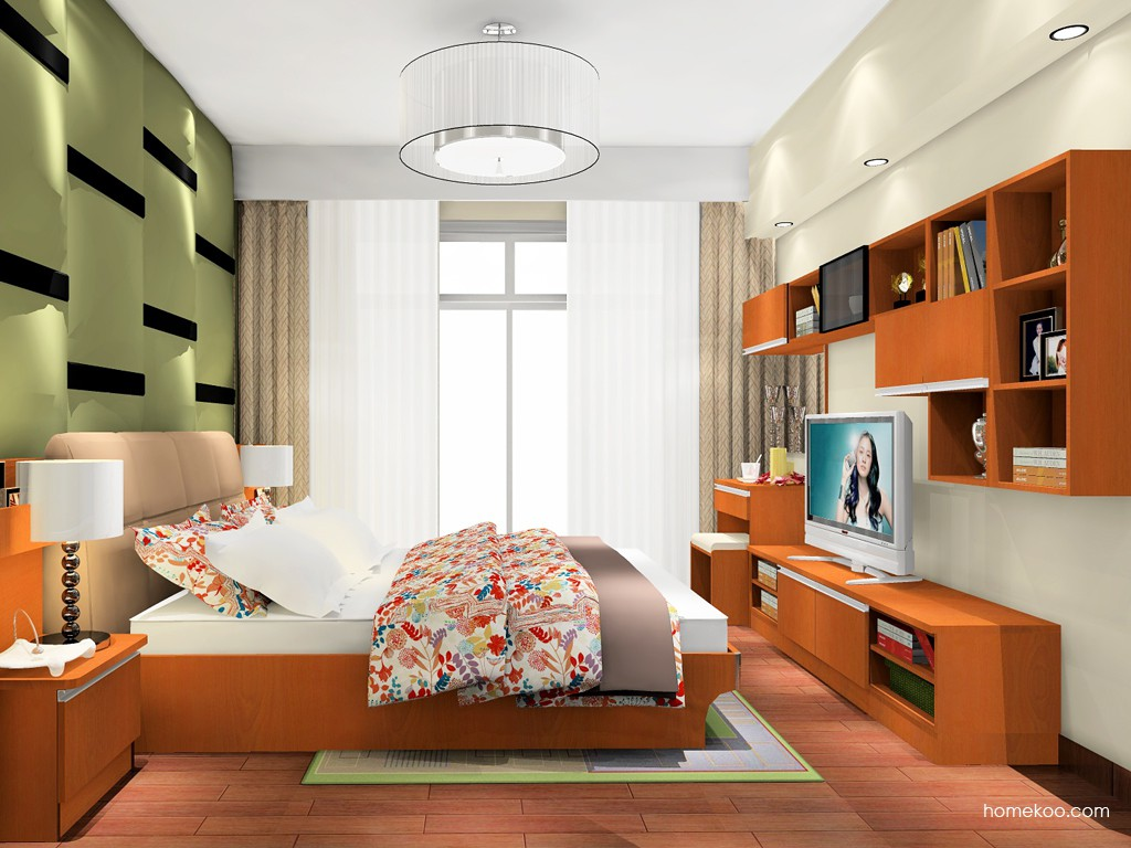 加州梦卧房家具A17973