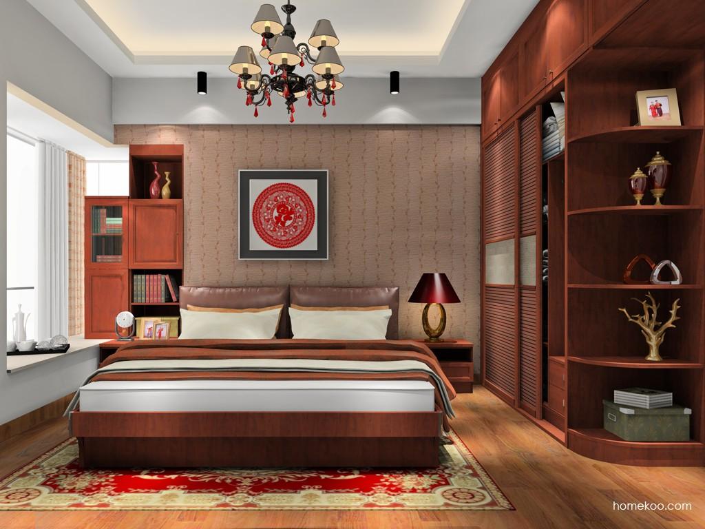 新中式主义卧房家具A17976
