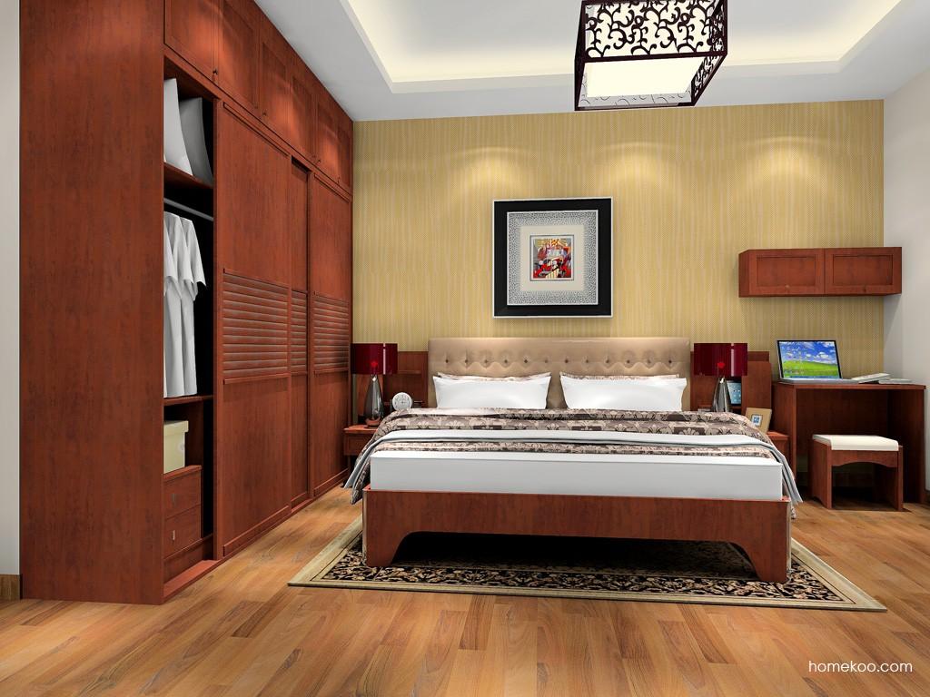 新中式主义卧房家具A17981