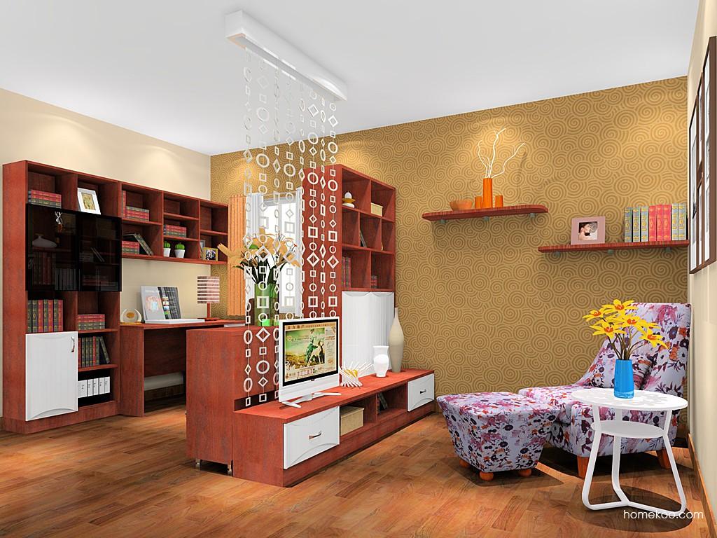 挪威月色书房家具C18183