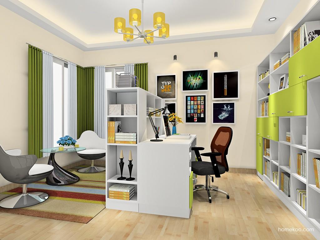 新实用主义书房家具C18204