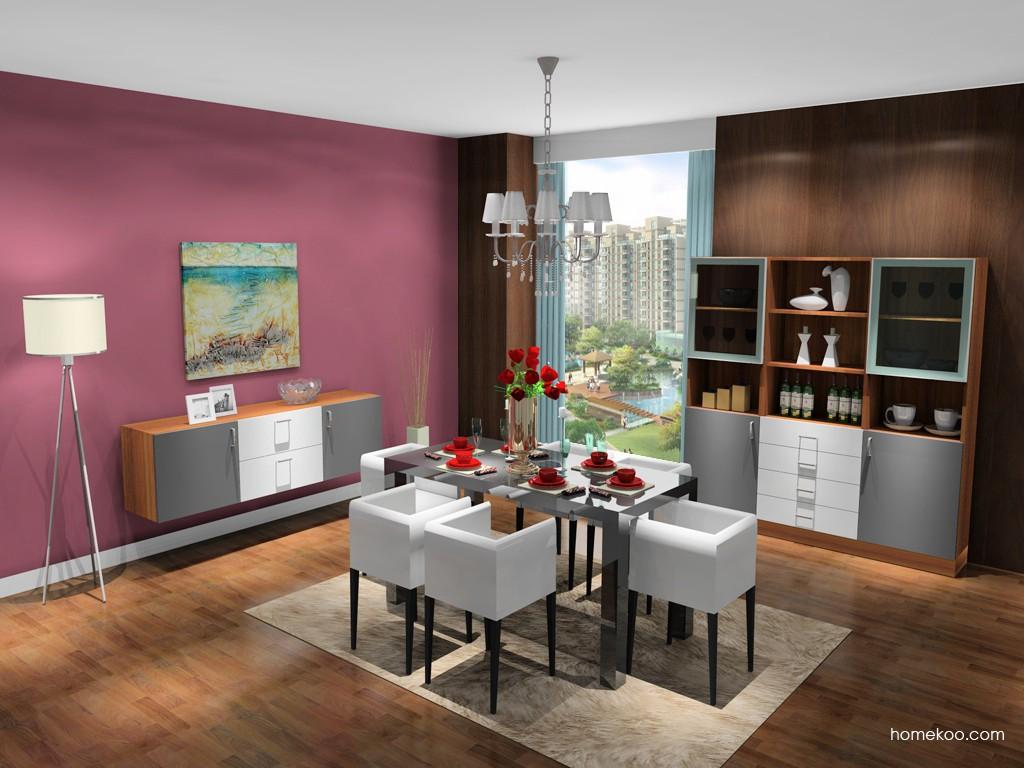 新实用主义餐厅家具E16819