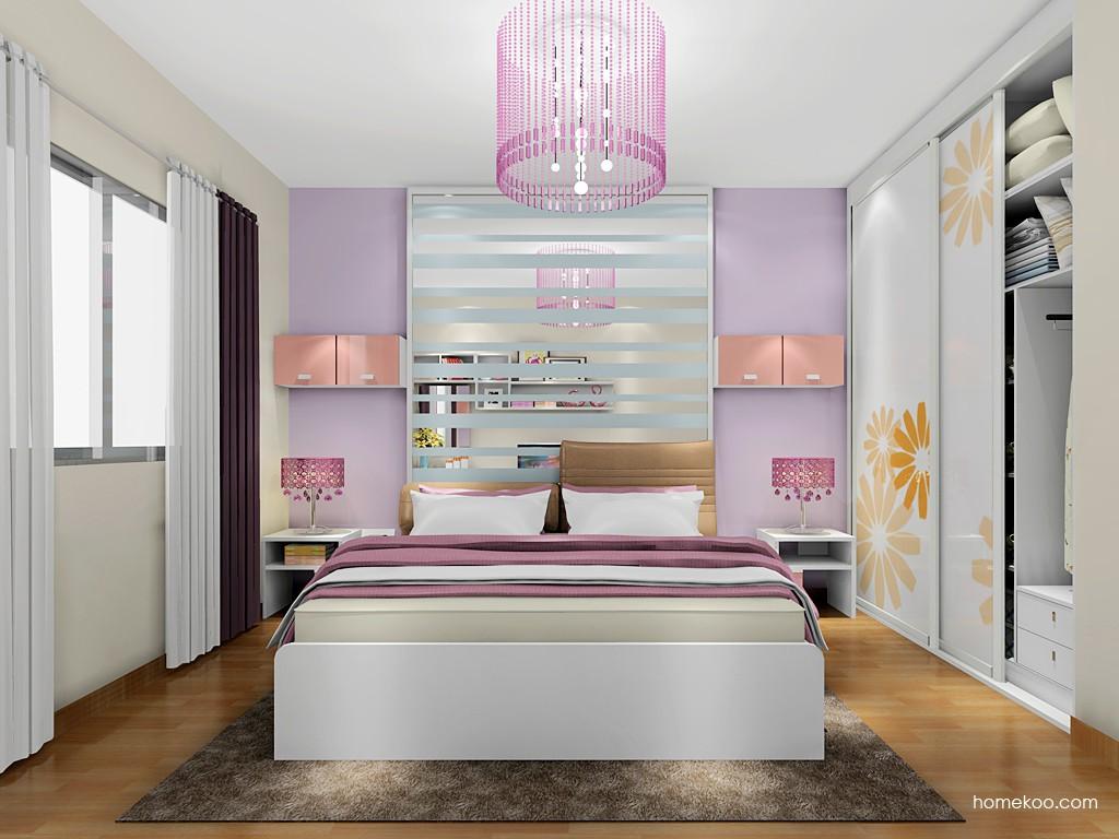 浪漫主义卧房家具A17988