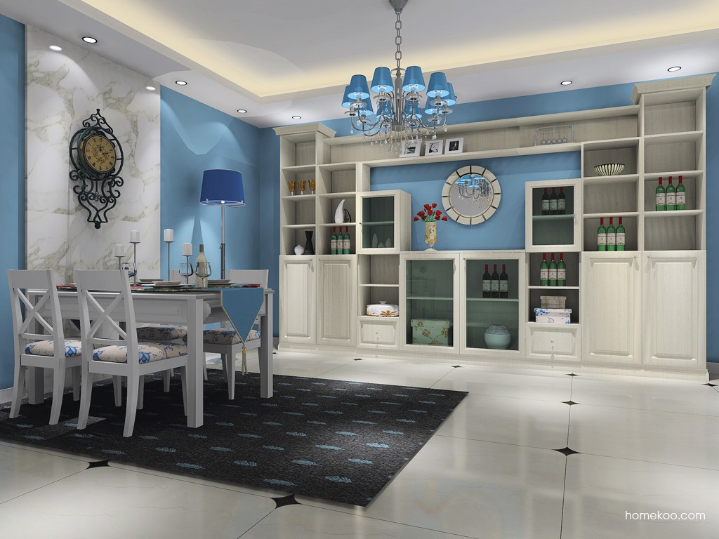 英伦印象餐厅家具E16822