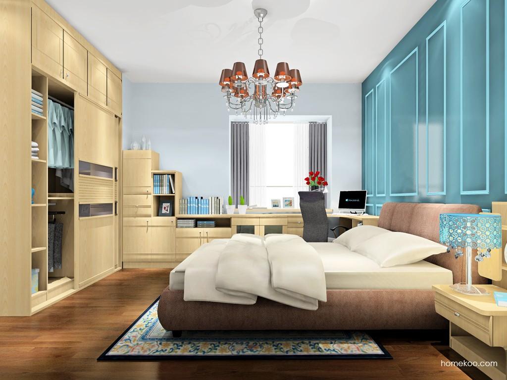 北美枫情卧房家具A17999