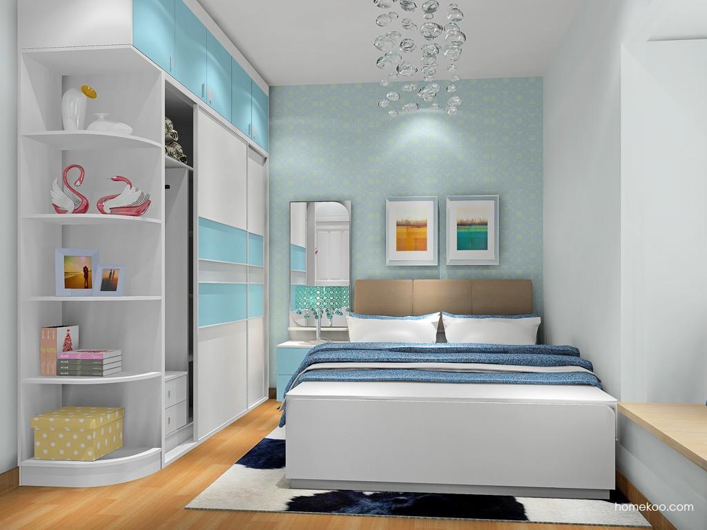 浪漫主义卧房家具A18000