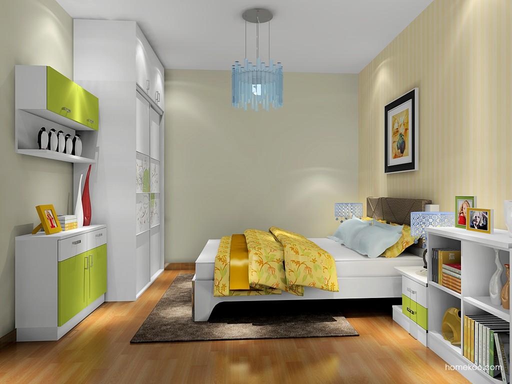 里昂春天卧房家具A18013