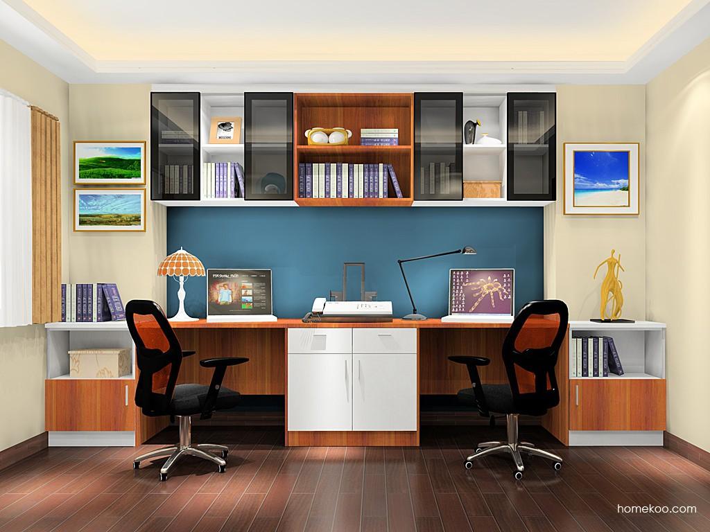 新实用主义书房家具C18258
