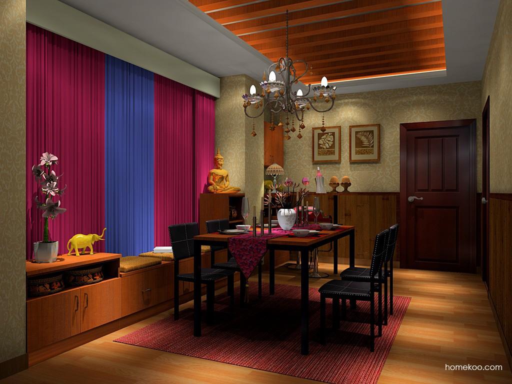 芭堤雅餐厅家具E16835