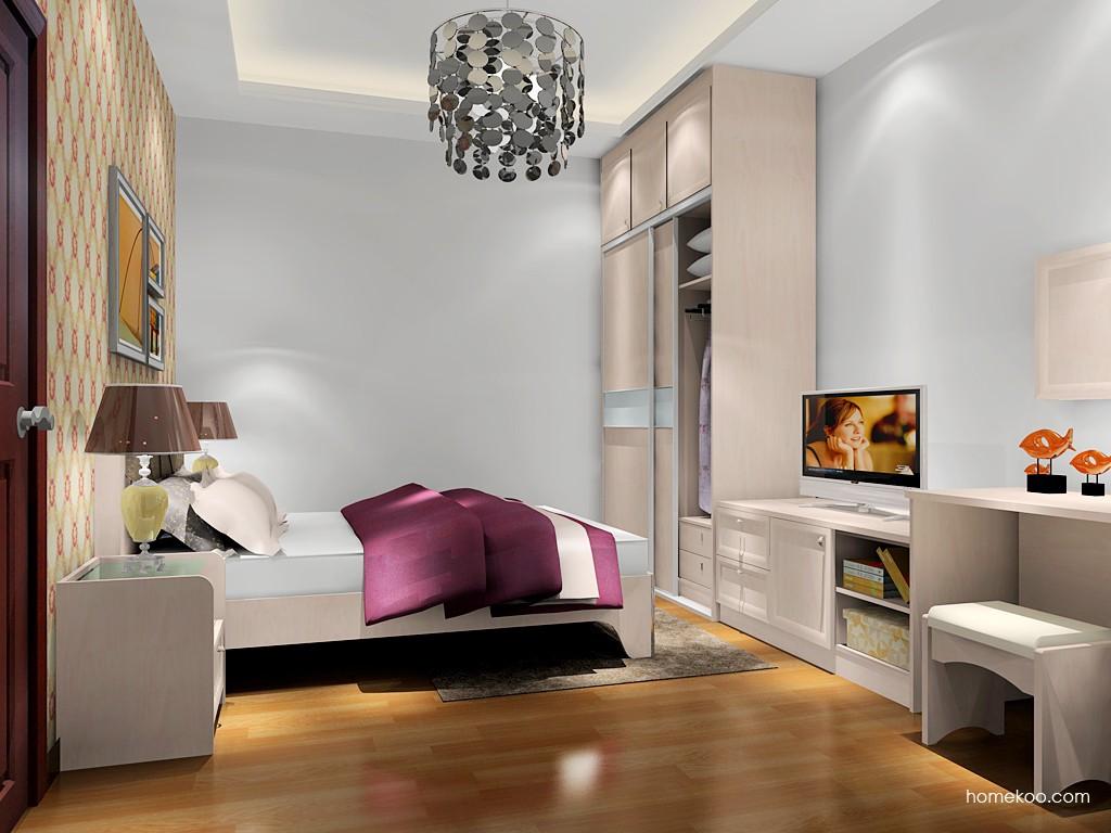 北欧阳光卧房家具A18024