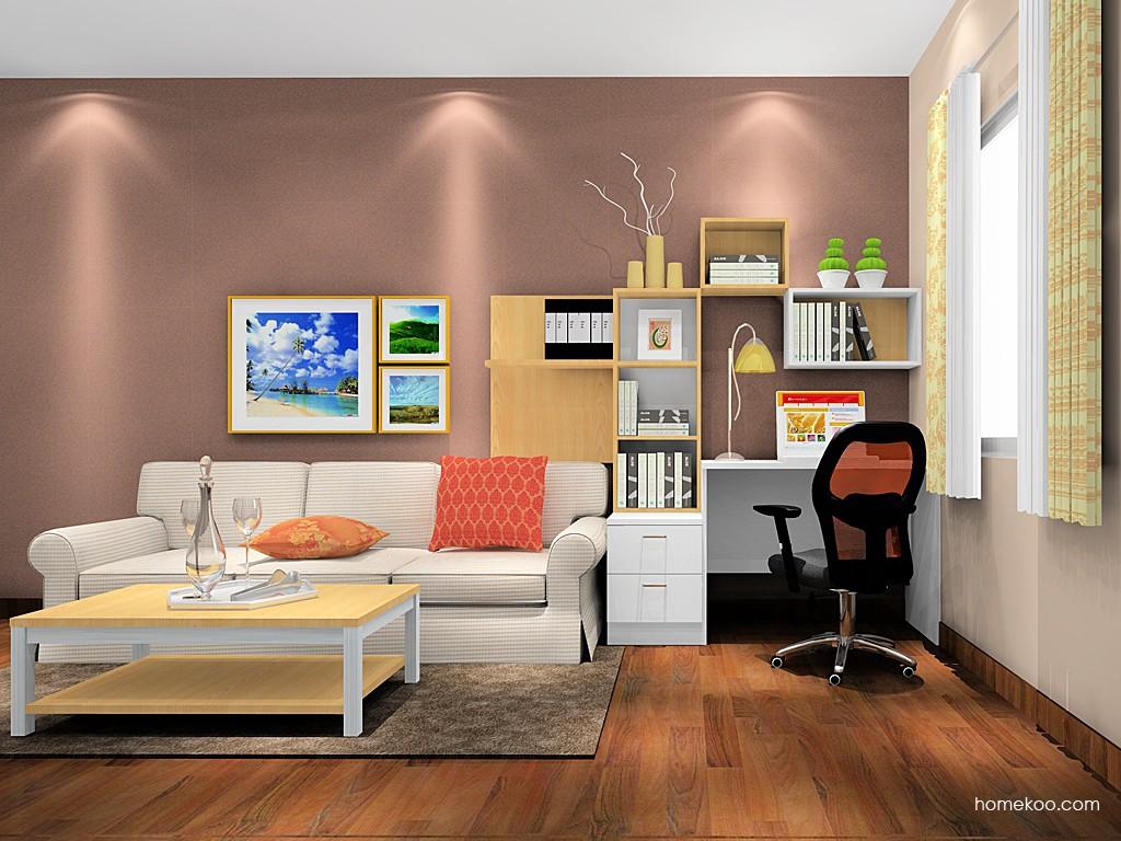 新实用主义书房家具C18315